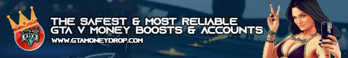 The safest and most reliable GTA V money boosts and modded accounts - www.gtamoneydrop.com
